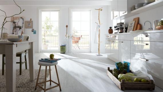 Vinylboden: der Bodenbelag für die Küche
