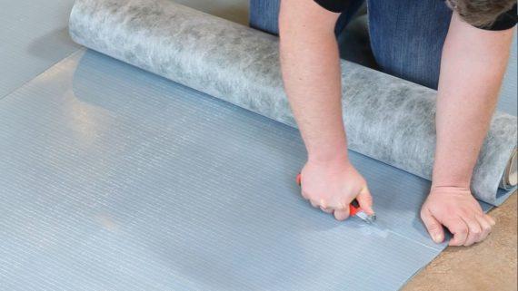 Trittschalldämmung Vinyl - Welche Vinylboden Unterlage nehmen?