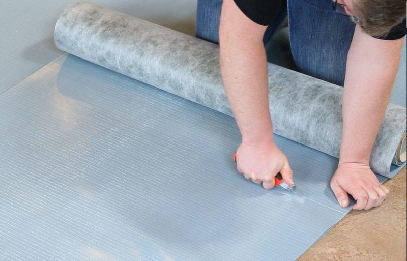 Dämmung Fußboden Höhe ~ Trittschalldämmung vinyl welche vinylboden unterlage nehmen
