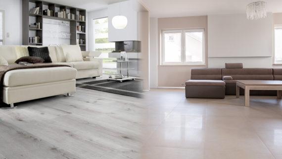 Vinylboden oder Fliesen - Welcher Bodenbelag ist besser?