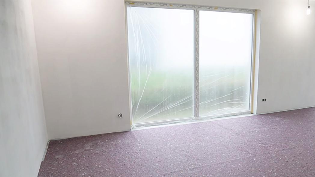 So sieht ein streichfertiger Raum aus.